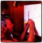 Elke dag om 14.00 uur werkt Cees de overzeiler bij met onze dagpositie.