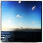 De Teide verdwijnt langzaam uit zicht