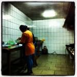 In de keuken bij Rita