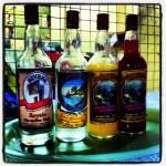 Rivers rum, ook weer mooie etiketten!