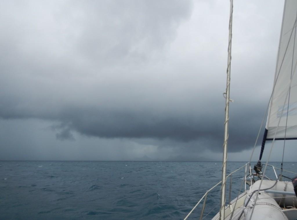 Daar komt regen aan!