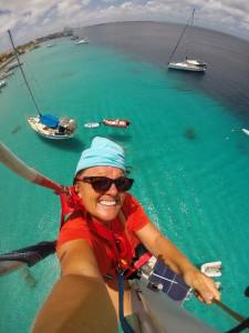 Selfie vanuit de mast. Who's next?