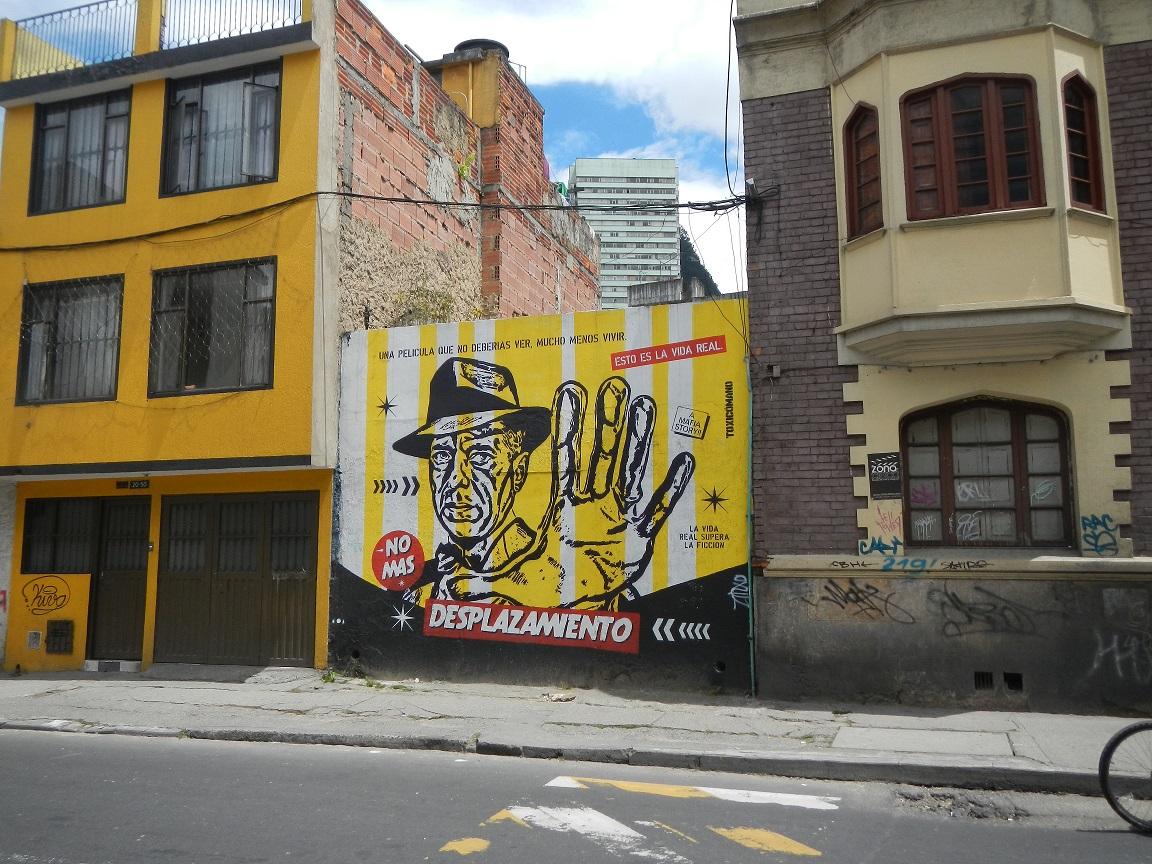 Graffiti met een boodschap