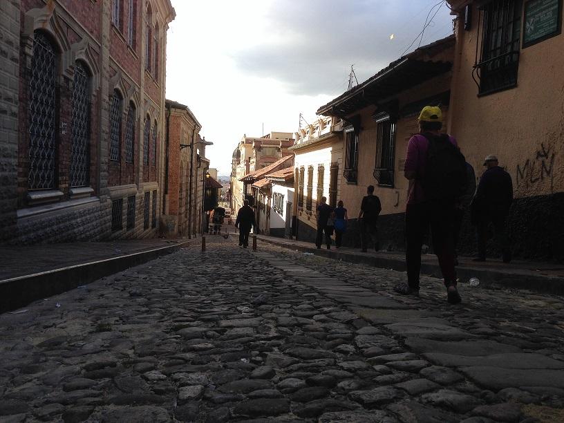 Een wandeltocht door de wijk La Candelaria