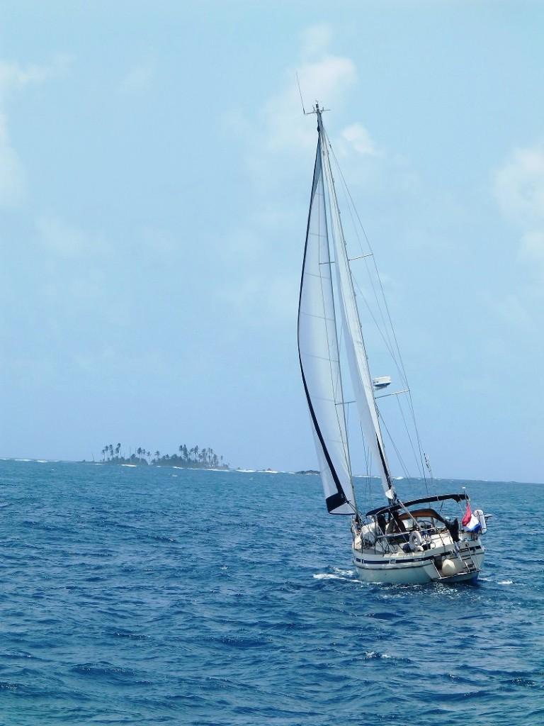 Zeilen naar Isla Tigre