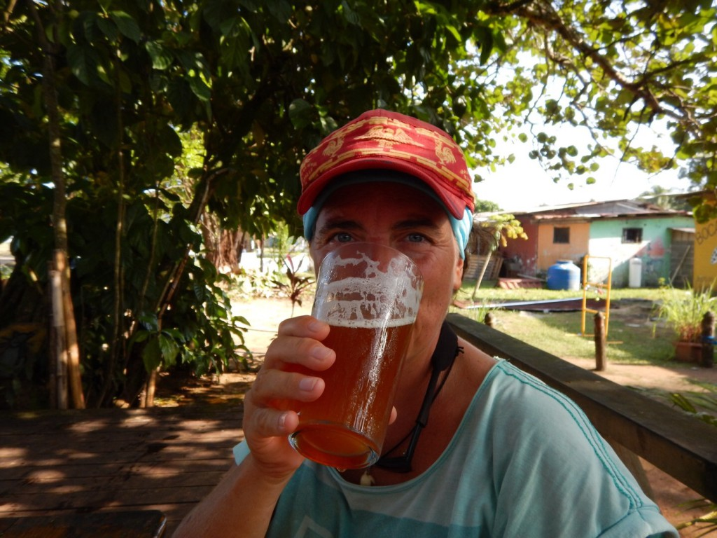 Ahhhhhh...een verdiende cerveza!