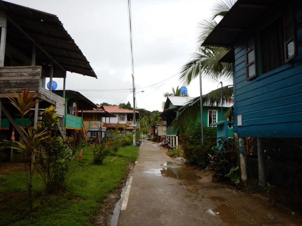 De 'hoofdstraat'