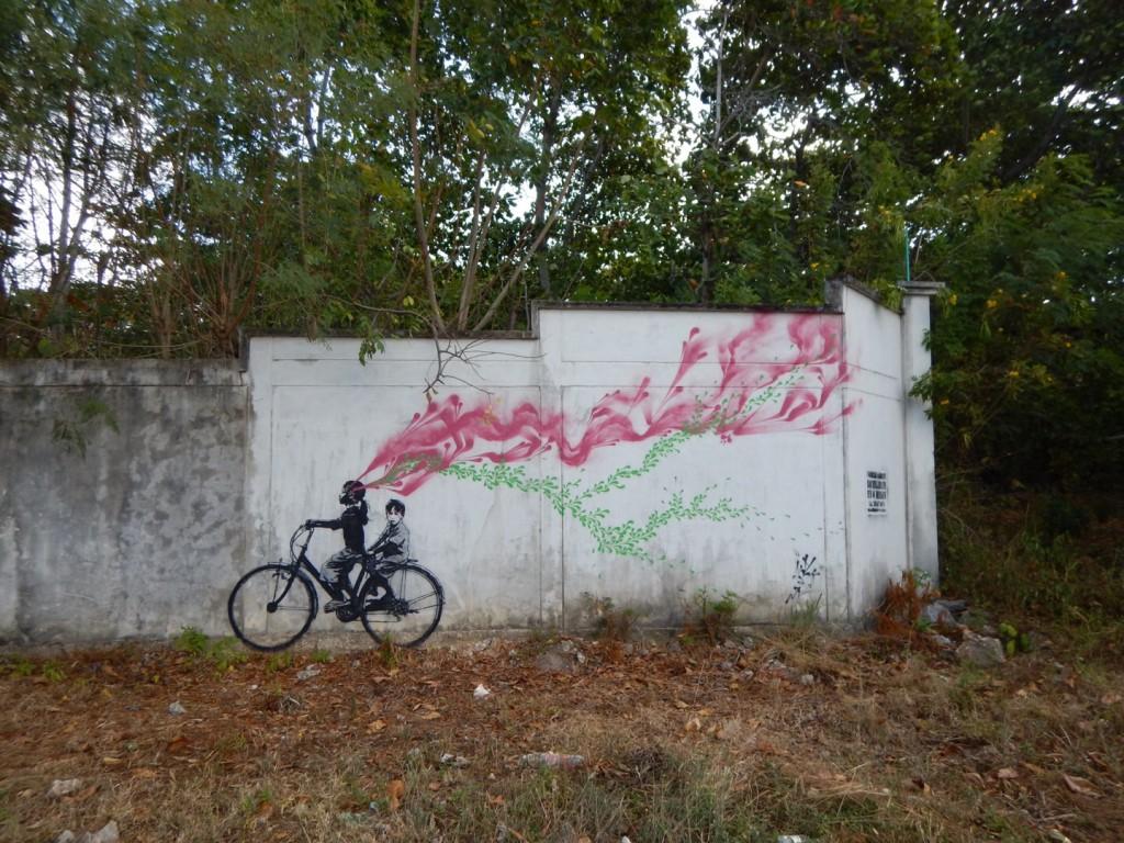 Stinkfish graffiti san andres island