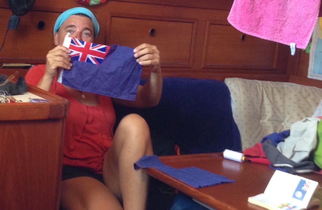 Cayman DIY flag!