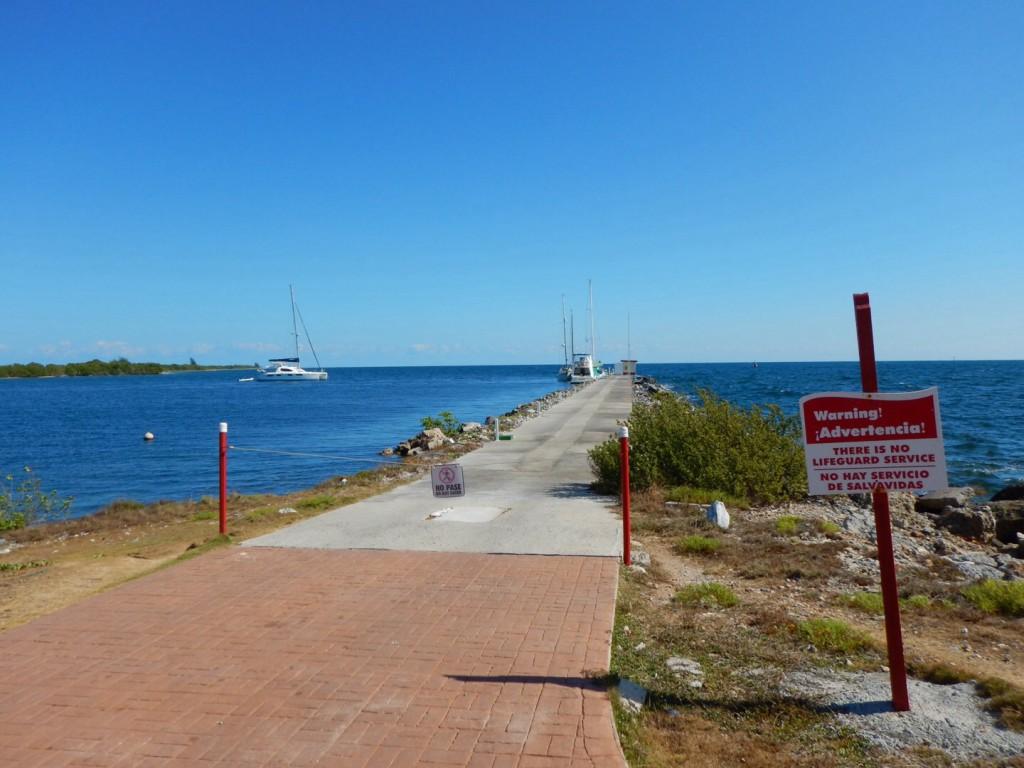 De marina van Los Morros, prima plek om uit of in te klaren.