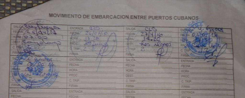 Onze 'bootbewegingen' in Cuba zo ver...