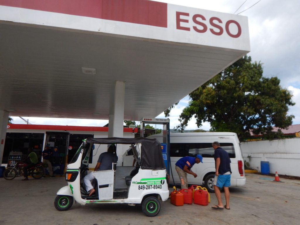 Voorbereiding deel 1: diesel halen