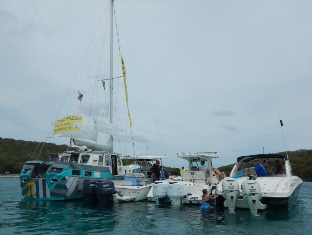 Pizza pi usvi foodboat