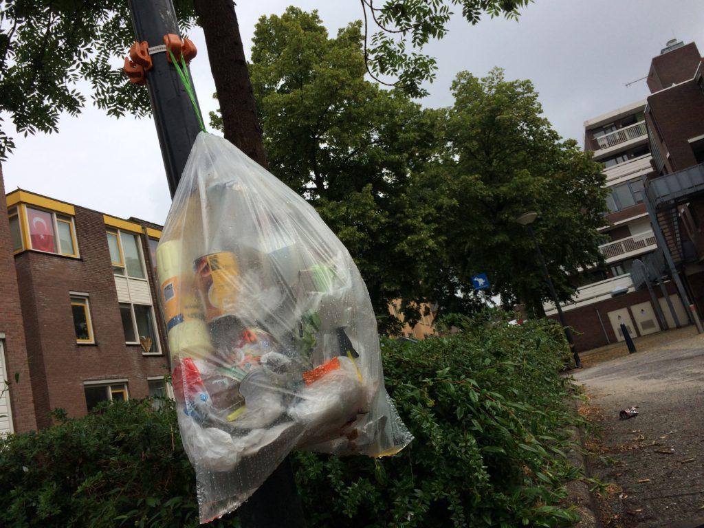 Plastic inzamelen in nederland