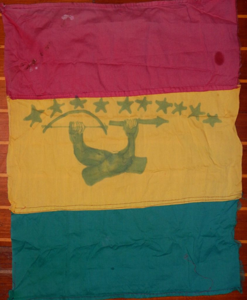 Kuna yala vlag bartering